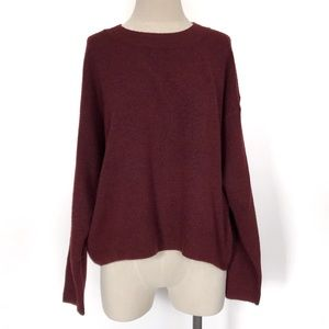 H&M Burgundy Red Pullover Sweater